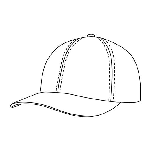 Baseball - mid visor